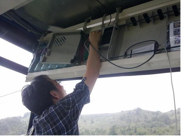 香港昂坪360度缆车系系统